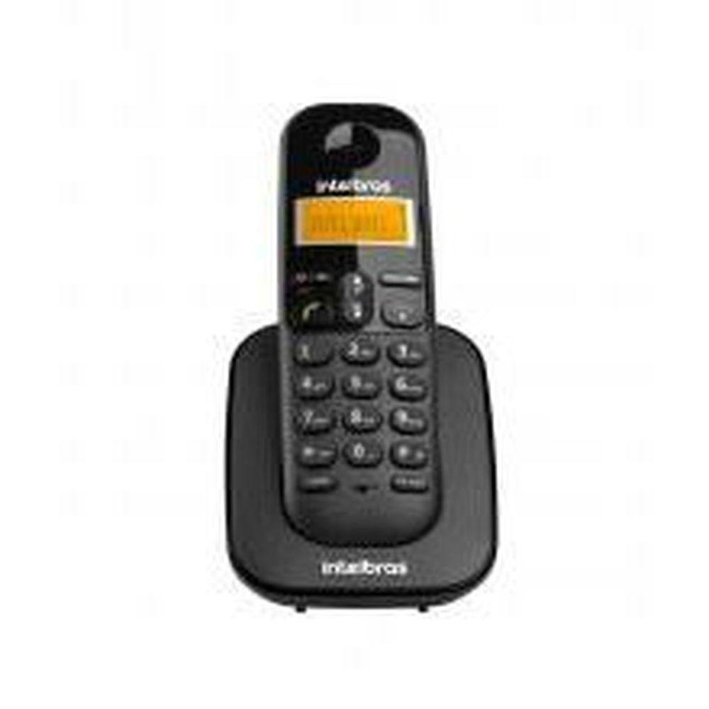 TELEFONE SEM FIO TS 3111 RAMAL PRETO INTELBRAS  - Sandercomp Virtual