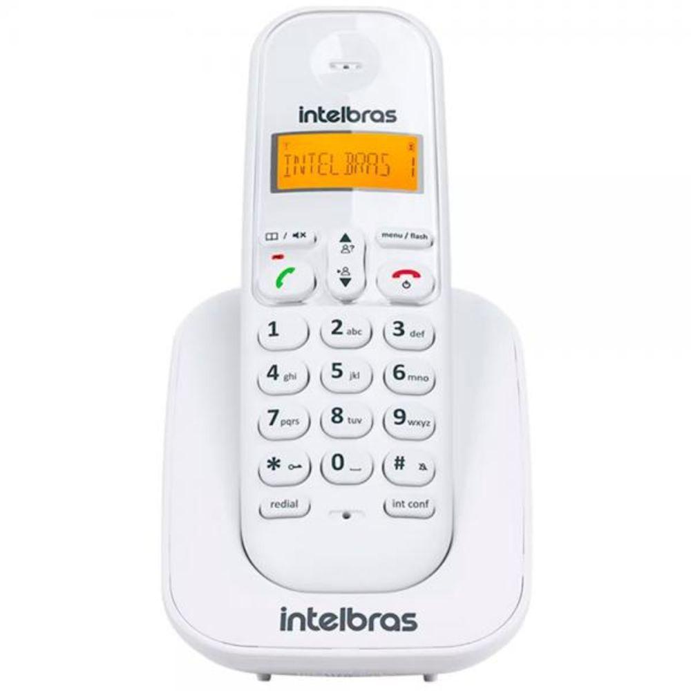 TELEFONE SEM FIO TS 3112 BRANCO INTELBRAS  - Sandercomp Virtual