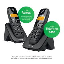 TELEFONE SEM FIO TS 3112 MAIS 1 RAMAL INTELBRAS  - Sandercomp Virtual