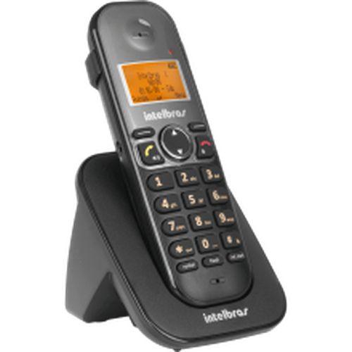 TELEFONE SEM FIO TS 5121 RAMAL PRETO NTELBRAS  - Sandercomp Virtual