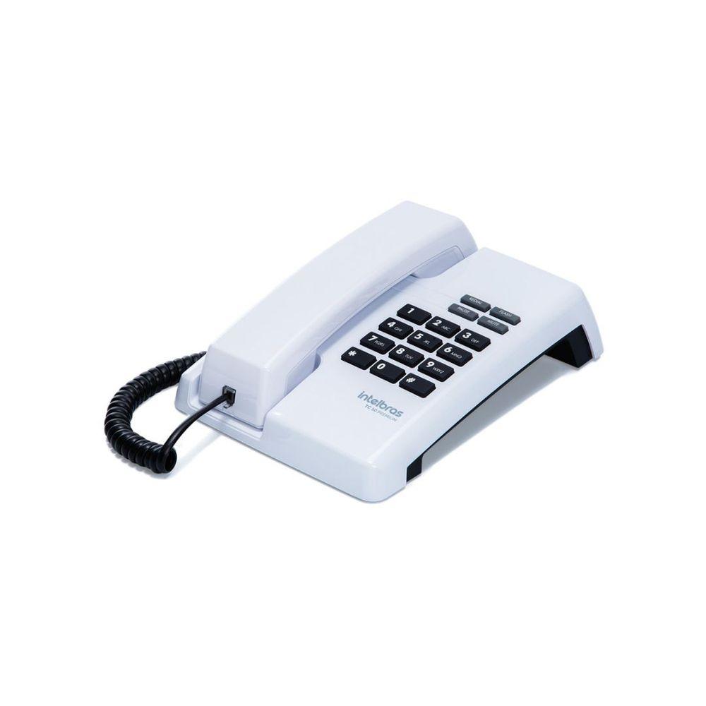 TELEFONE TC50 PREMIUM BRANCO (100MS)  - Sandercomp Virtual