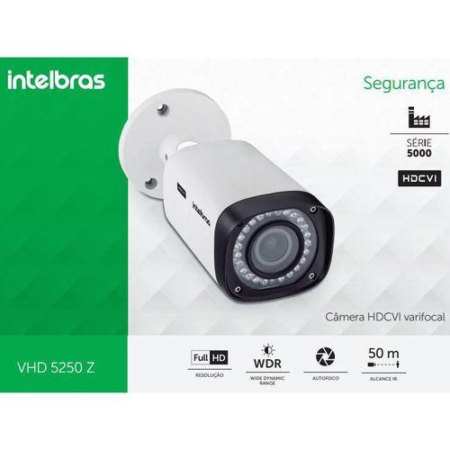 "VHD 5240 B STARLIGHT- CÂMERA BULLET INFRAVERM. HDCVI, STARLIGHT, RESOLUÇÃO 2MP, 40M IR, SENSOR SONY STARVIS 1/2.8"", LENTE DE 3,6MM, MENU OSD, INSTALAÇÃO INTERNA E EXTERNA (IP66)  - Sandercomp Virtual"