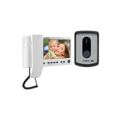 "Video Porteiro Iv 7010 Hs Tela de 7"" Polegadas Intelbras  - Sandercomp Virtual"