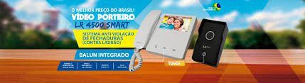 VIDEO PORTEIRO LR4500 SMART LIDER TECNOLOGIA TOUCH  - Sandercomp Virtual