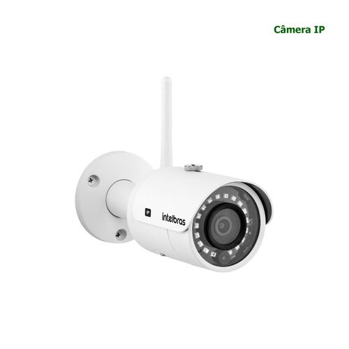 VIP 3430 W - CÂMERA IP WI-FI CORPORATIVO BULLET 4MP, H.265, ENTRADA PARA CARTÃO SD, ANALÍTICOS DE VÍDEO, LENTE 3.6MM, IR DE 30 METROS e IP67  - Sandercomp Virtual