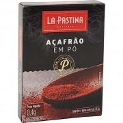 Açafrão Em Pó La Pastina - 0,4g -