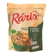 Arroz Integral 7 Grãos Integrais Ráris - 500g -