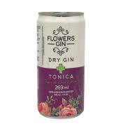 Bebida Alcoólica Toque de Coco e Açaí Flowers Gin - 269ml -