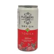 Bebida Alcoólica Toque de Melancia Flowers Gin - 269ml -