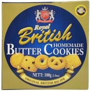 Biscoito Butter Cookies Royal British 100g