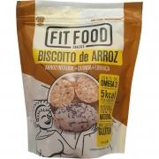 Biscoito de Arroz Fit Food Snacks - 90g -