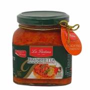 Bruschetta Alcachofra e Pimentão La Pastina - 280g -