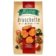 Bruschette bites - Tomato, olives & oregano - Moretti - 90g