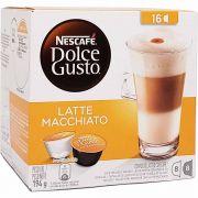 Café em Cápsula Dolce Gusto Latte Macchiato Nescafé - 194g -