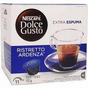 Café em Cápsula Dolce Gusto Ristretto Ardenza Nescafé - 112g -