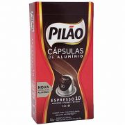 Café em Cápsulas de Alumínio Espresso 10 Pilão - 52g -