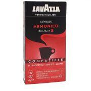 Café em Cápsulas Espresso Armonico 8 Lavazza - 50g -
