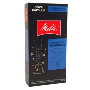 Café em Cápsulas Espresso Marcato 9 Melitta - 50g -