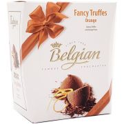 Caixa Chocolate Belgian Fancy Truffes Orange - 200g -