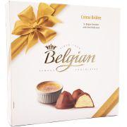 Caixa de Chocolate Belgian Crème Brûlée - 200g -