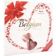 Caixa de Chocolate Belgian Hearts - 200g -