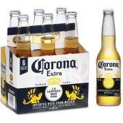 Pack Cerveja Corona Extra Long Neck com 6 unidades - 330ml -