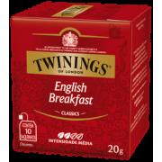 Chá English Breakfast Twinings - 20g -