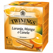 Chá Laranja, Manga e Canela Twinings - 18g -