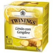 Chá Limão com Gengibre Twinings - 15g -