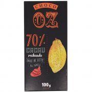 Chocolate 70% Cacau Recheado com Doce de Leite Choco OZ - 100g -