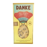 Chocolate Branco com Biscoito Sabor Chocolate Danke - 90g -