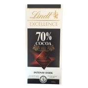 Chocolate Lindt Excellence 70% Cocoa - 100g -