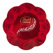 Chocolate Lindt Lindor Rose Tin - 175g -