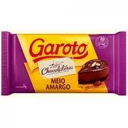 Chocolate Meio Amargo Garoto - 1kg -