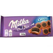 Chocolate Milka Oreo Sandwich Importado Chocolate & Biscoito Oreo - 92g -