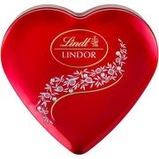 Chocolate Suíço Crystal Heart Lindor Milk Lindt - 212g -