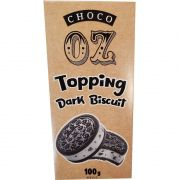 Chocolate Topping Dark Biscuit Choco OZ - 100g -