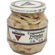 Cogumelos Fatiados em Conserva Hemmer - 350g -