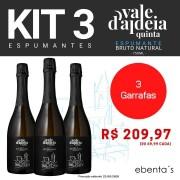 Kit 3 Espumantes Quinta Vale d'Aldeia Brut