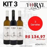 Kit 3 Vinhos Foral de Meda (2 Brancos + 1 Tinto)