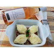 Kit Conchiglione 4 queijos Nova Benta 600g + Vinho Georges Duboeuf La Cuvée Rosé - Rosé - 750 ml