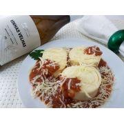 Kit Rondelli 4 queijos Nova Benta 600g  + Vinho Vinhas Velhas Paulo Laureano Tinto 2016 750ml