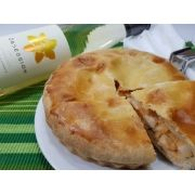 Kit Torta de Palmito Nova Benta 600g + Vinho Obsession Symphony Ironstone Branco 750ml