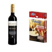 Kit Vinho Esporão Pé 750 ml + Fondue de Queijo 400g