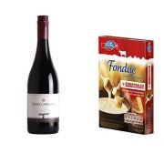 Kit Vinho Santa Carolina 750ml + Fondue de Queijo 400g