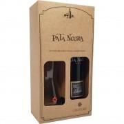 Kit Vinho Tinto Pata Negra 750ml + Decanter