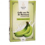 Leite em Pó de Biomassa de Banana Verde Santo Óleo - 200g -
