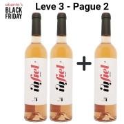 Leve 3 - Pague 2 | Vinhos Rosé Infiel Quinta Vale D´Aldeia - 750ml -