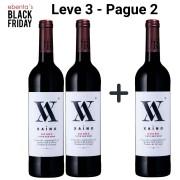 Leve 3 - Pague 2 | Vinhos Tintos Xaino - 750ml -