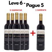 Leve 6 - Pague 5 | 6 Garrafas Vinho Pé Tinto  Esporão - 750ml -